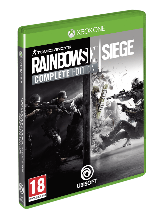 Advanced, Gold and Complete Editions of Rainbow Six Siege