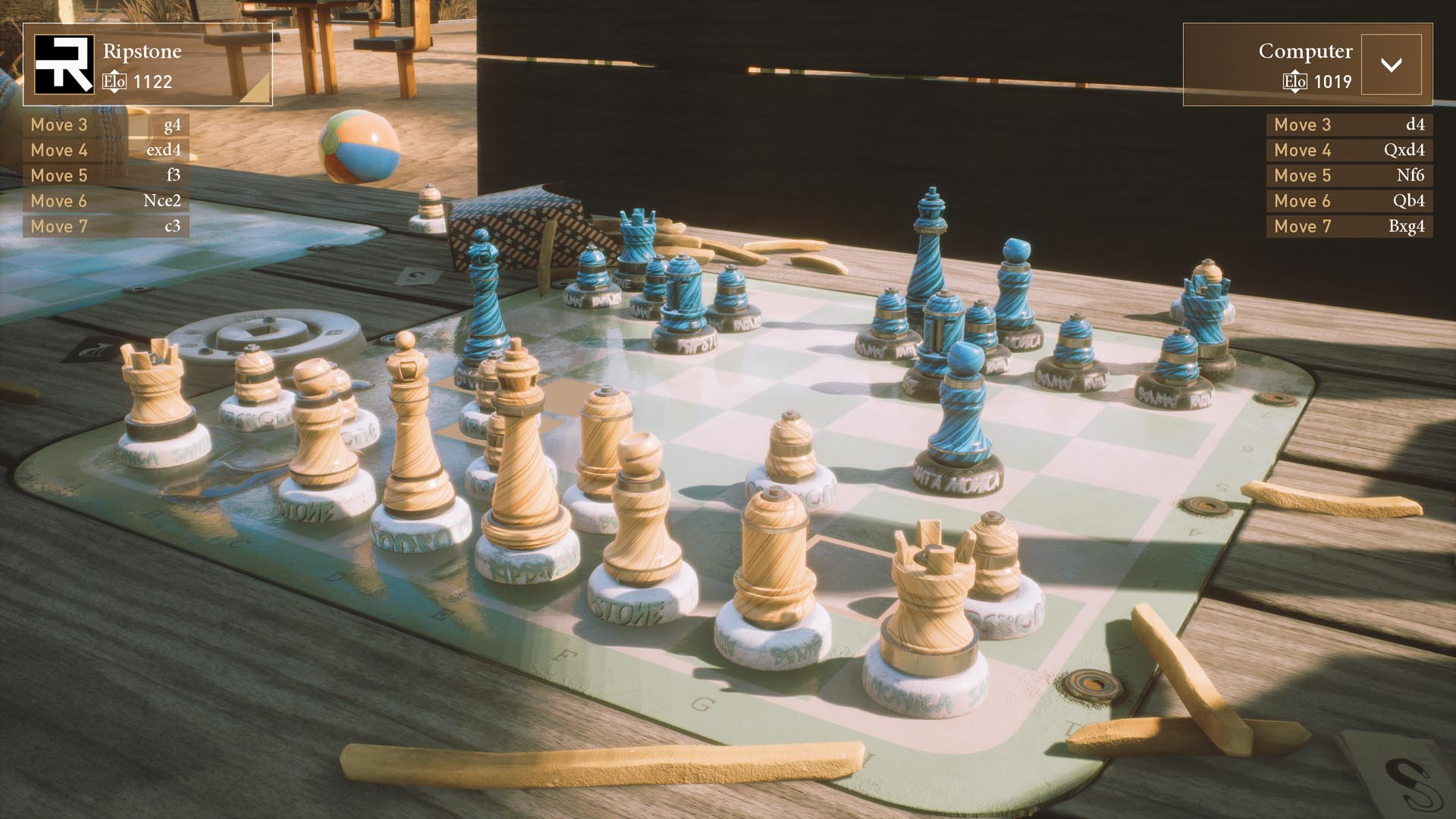 Head to Santa Monica with the latest Chess Ultra DLC