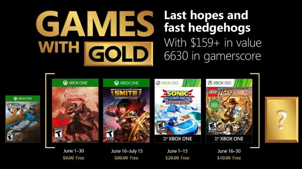 Xbox Gold Games June 2020.Are The Free Xbox Games With Gold Titles For June 2018 Any