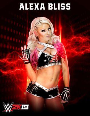 WWE2K19 Roster Alexa Bliss