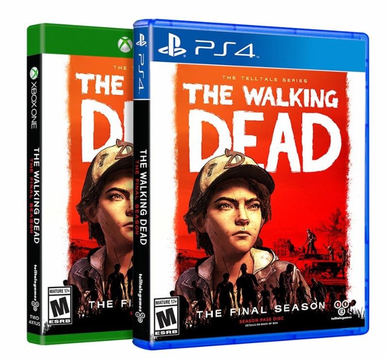 The Walking Dead: The Final Season retail package gets November