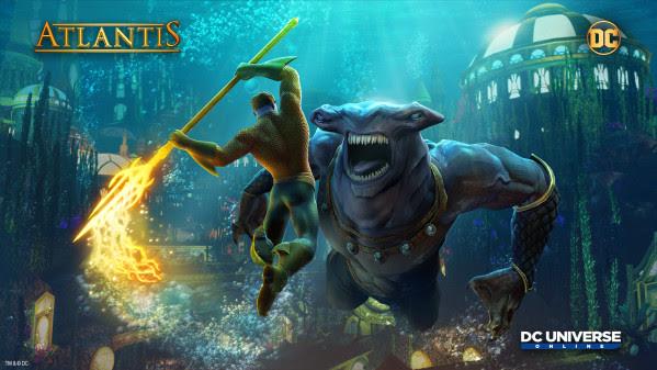 DC Universe Online makes a splash with the new Atlantis