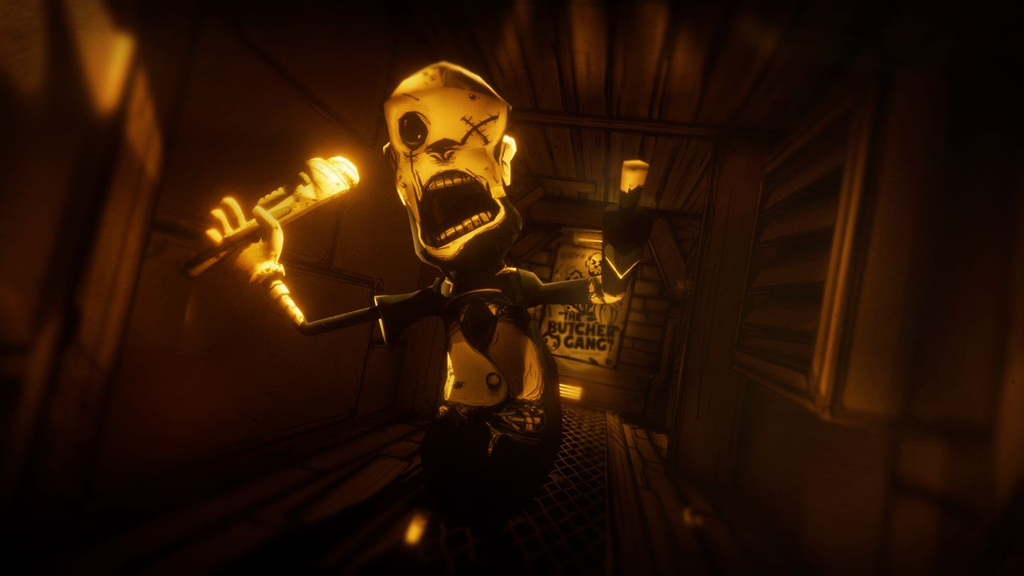 bendy and the ink machine brings first person horror to xbox one