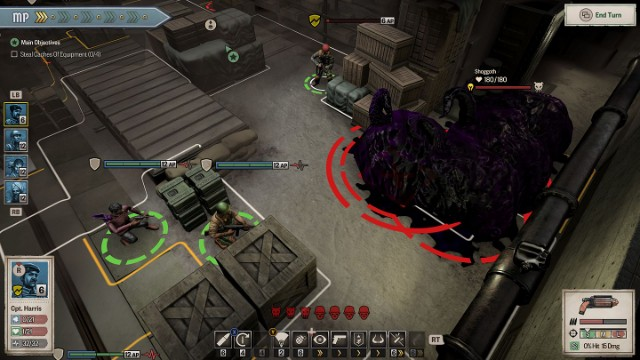 Achtung! Cthulhu Tactics review xbox one 1