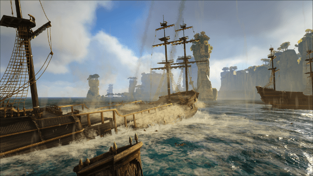 Pirate Survival Mmo Atlas On Xbox One And Pc Announced By