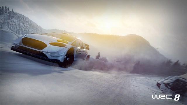 WRC8 xbox one