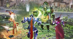 override mech city brawl review xbox one 3