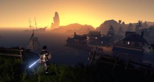 outward cierzo at dawn
