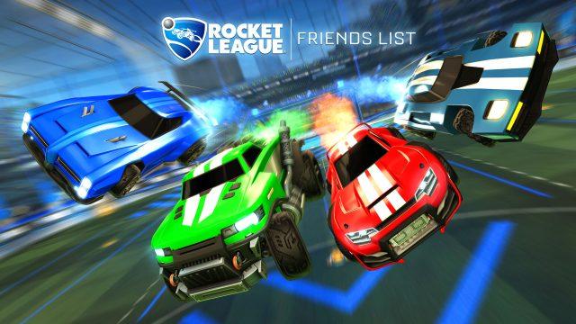 Rocket League Friends Update