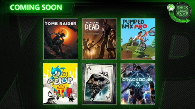 Xbox Game Pass February 2019