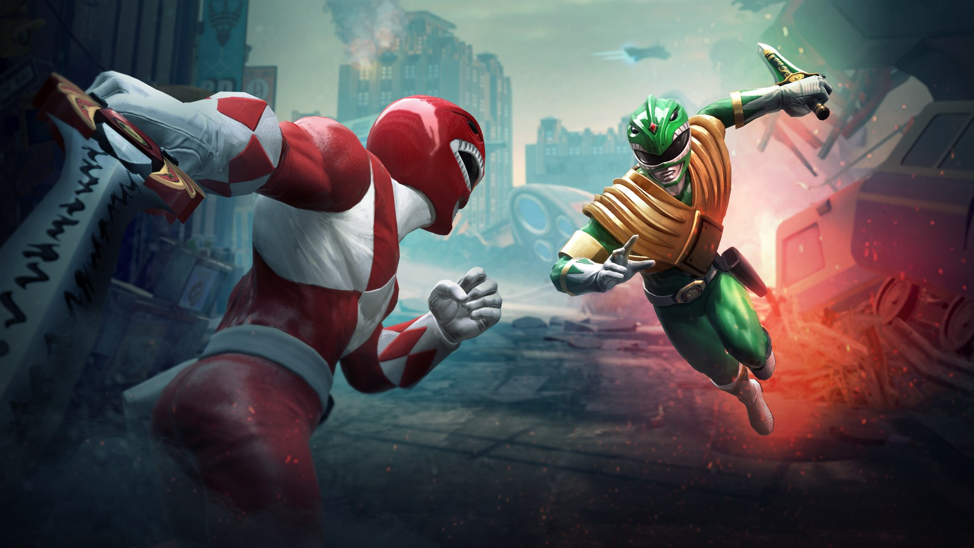 It S Morphin Time As The Power Rangers Battle For The Grid On Xbox