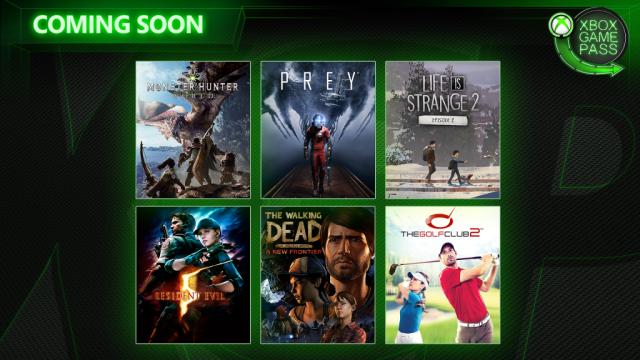 Xbox Game Pass April 2019
