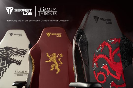 secretlab game of thrones collection