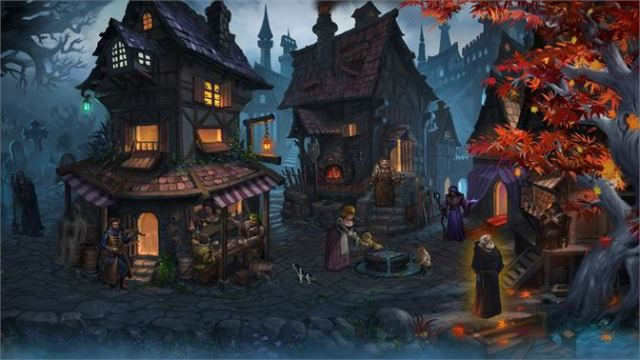 Dark Quest 2 Village