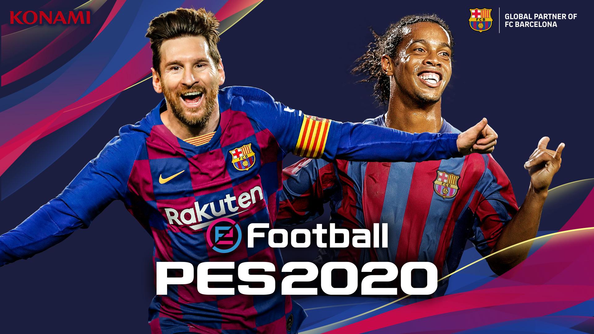 Konami announce the evolution of PES - eFootball PES 2020