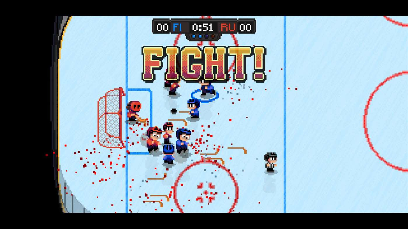 Skate And Die As Super Blood Hockey Releases On Xbox One Thexboxhub