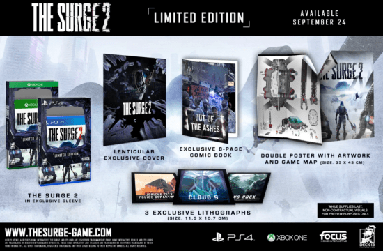 the surge 2 xbox limited preorder