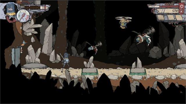 Feudal Alloy Cave