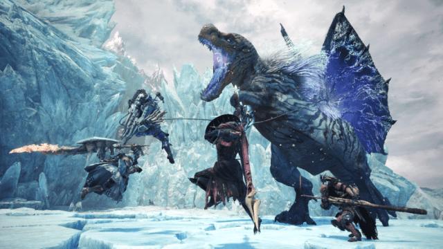 Monster hunter world iceborne Fulgur Anjanath