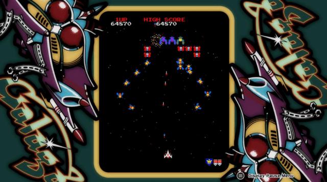 arcade game series galaga xbox