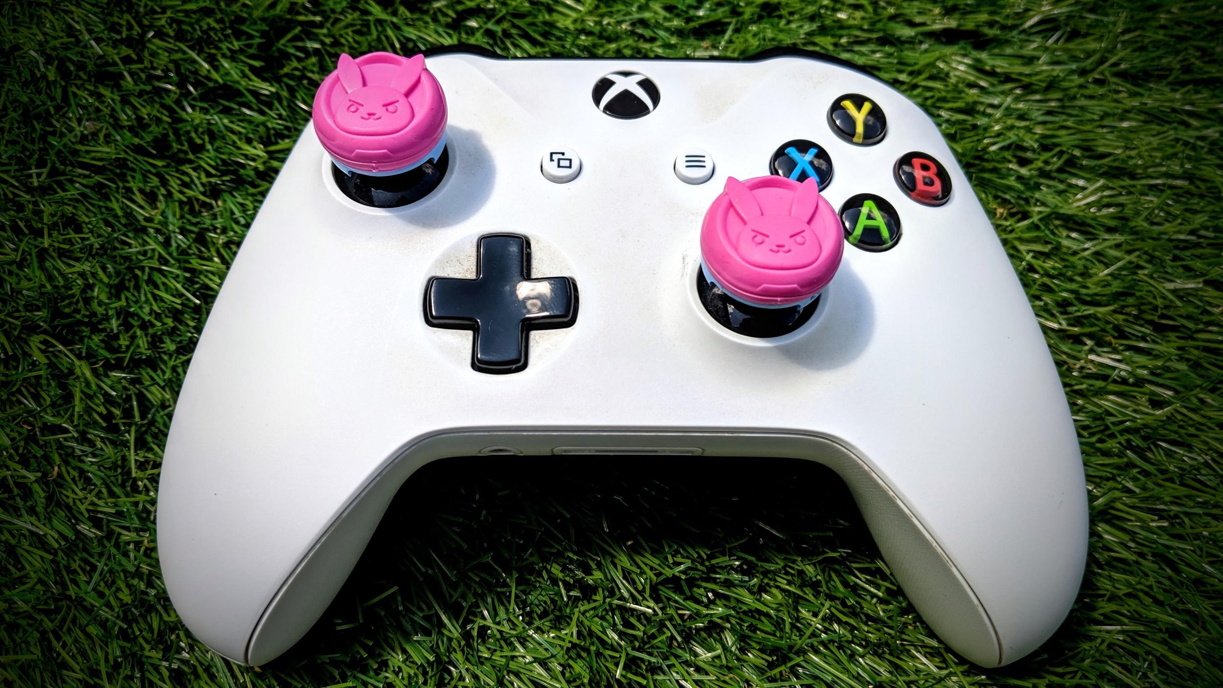 KontrolFreek Overwatch D Va Performance Thumbsticks for Xbox