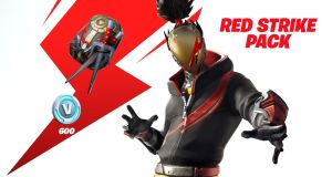 fortnite red strike pack