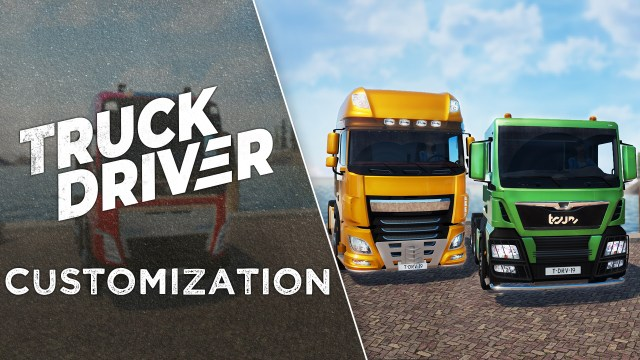 truck driver customisation
