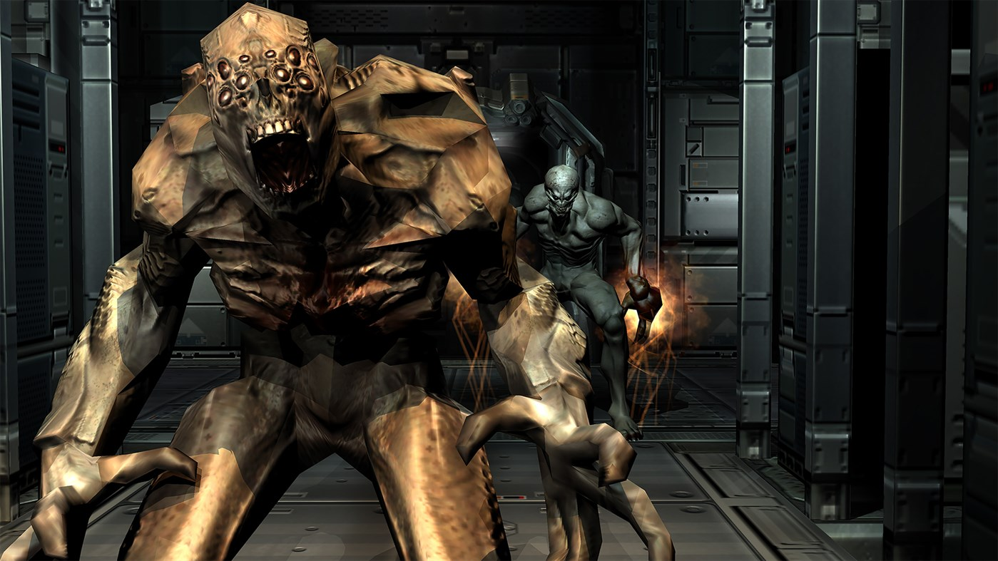 Doom 3 Review - Teaching an Old Demon New Tricks | TheXboxHub