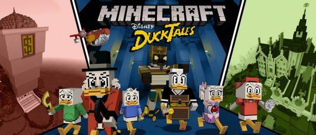 minecraft ducktales