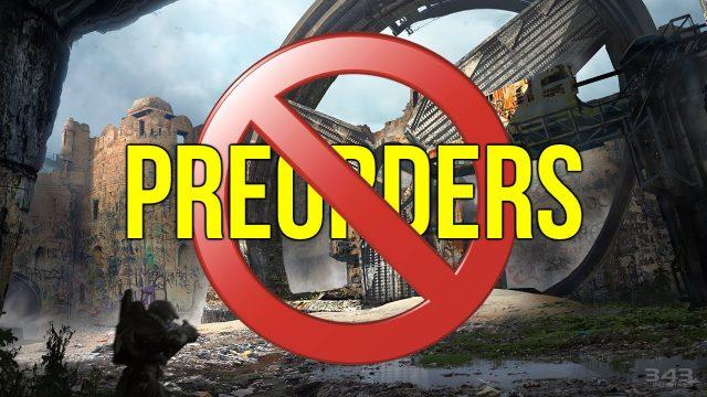 no to preorder