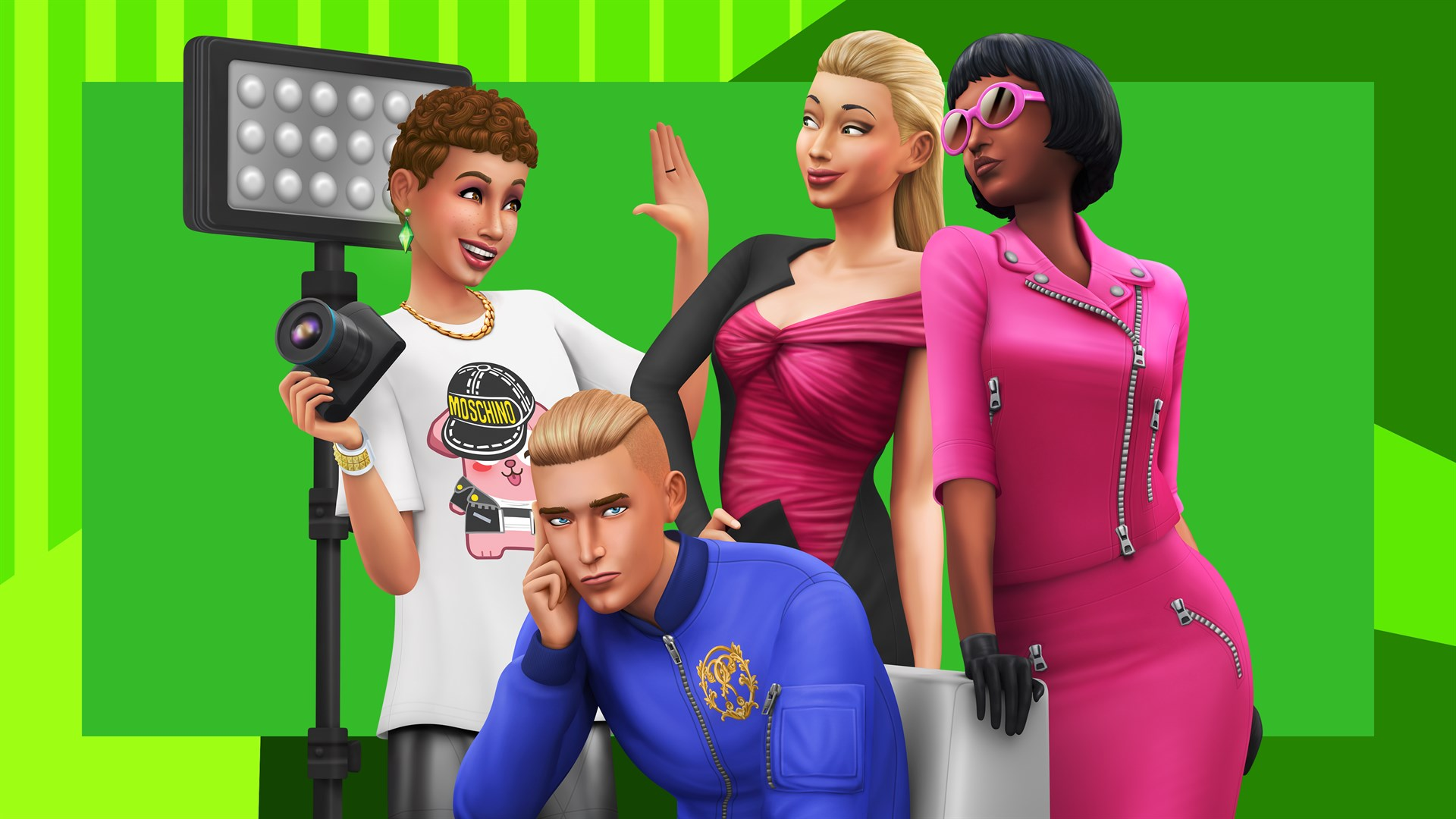 Create an impression with The Sims 4 Moschino DLC Pack on