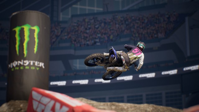 Monster Energy Supercross - The Official Videogame 3 Yamaha