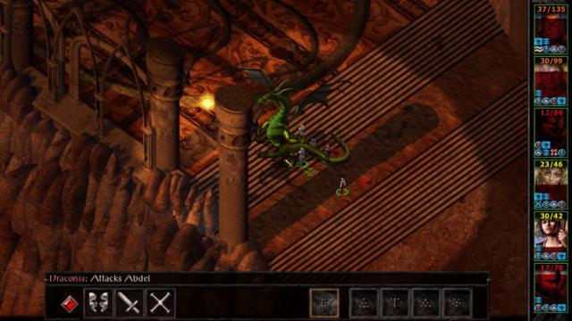 baldurs gate 2 dragon