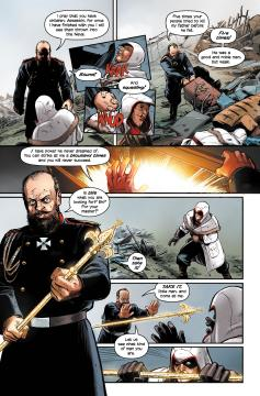 Assassins Creed The Fall The Chain comic review 3