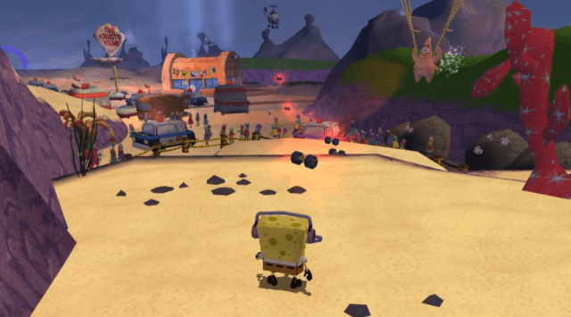spongebob squarepants movie xbox 1