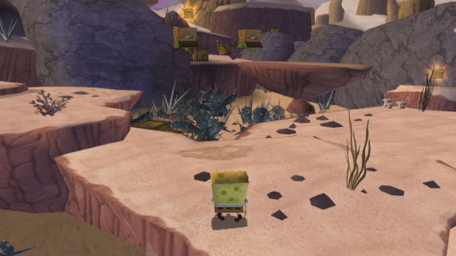 spongebob squarepants movie xbox 2