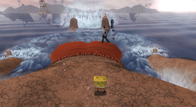 spongebob squarepants movie xbox 3