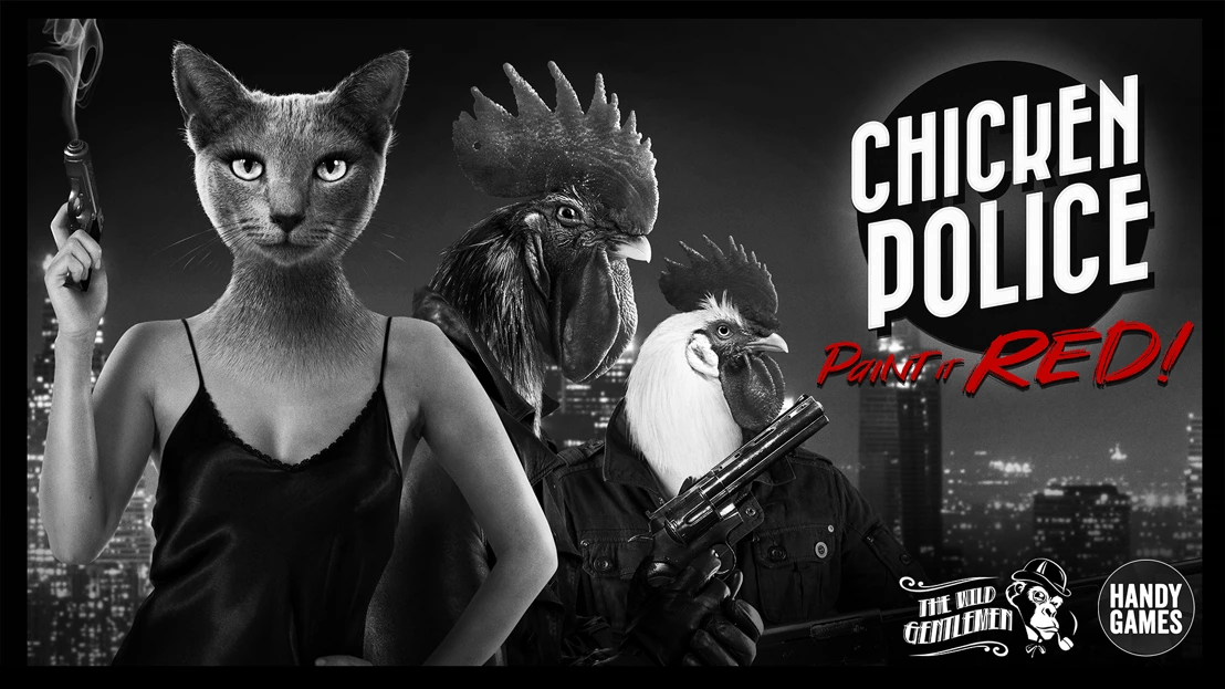 Film-noir inspired buddy-cop Chicken Police announced for 2020 launch on Xbox One, PS4, Switch and PC
