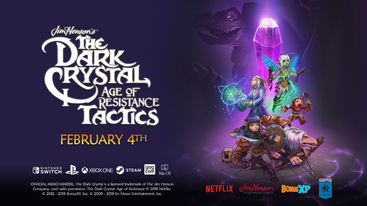 Xbox One X Games 2020.The Dark Crystal Age Of Resistance Tactics To Launch A