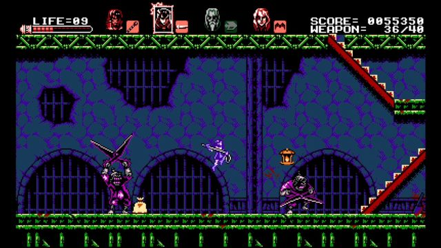 bloodstained curse of the moon xbox