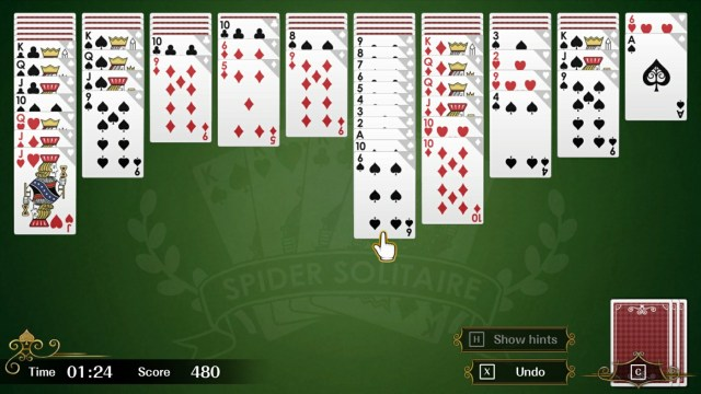 Spider Solitaire F xbox one hard