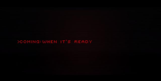 Cyberpunk 2077 coming when its ready