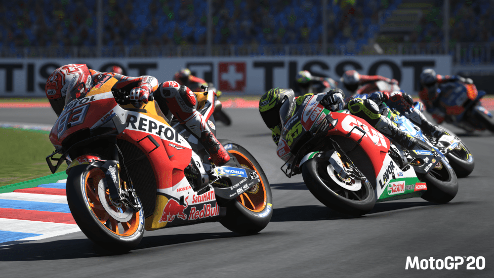 MotoGP 20 races to Switch on April 23rd, 2020