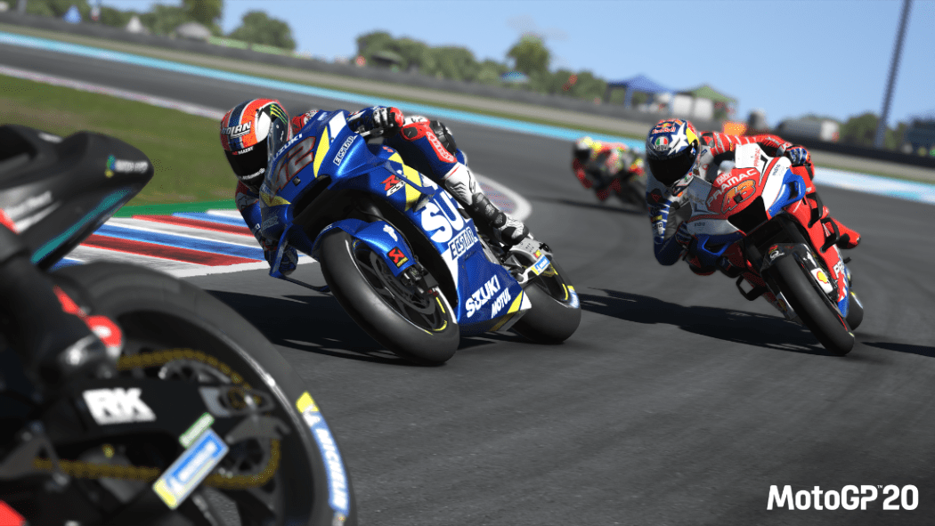MotoGP20 coming to PC and consoles this April