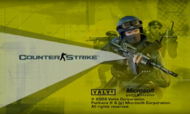 Counter Strike Original Xbox