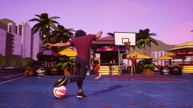 street power football Brazil Beach