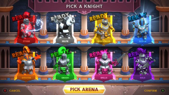 knight squad 2 pick a knight