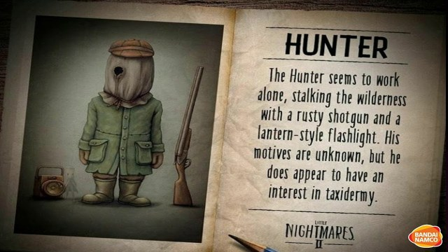 little nightmares ii hunter