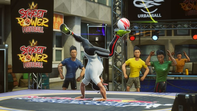 street power football freestyle