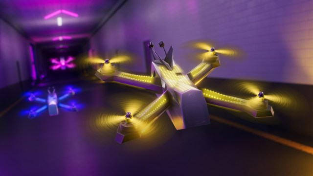 The Drone Racing League Simulator